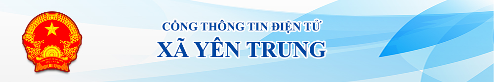 banner xã yên trung